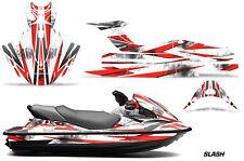 Jet Ski Gráficos Kit Pwc Pegatina Wrap For Kawasaki Stx15f 2003-2018 Slash Roja