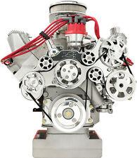BILLET SPECIALTIES TRU TRAC FORD FE SERPENTINE FRONT ENGINE KIT,PULLEYS,BRACKETS