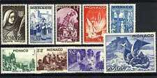 1944 MONACO ANNEE COMPLETE TIMBRES POSTE  xx