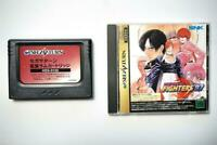 Sega Saturn The King of Fighters 97 with RAM Japan SS game US Seller