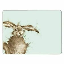 Pimpernel for Royal Worcester Wrendale Designs Hare Placemats Set of 6