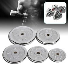 1 Pair Weight Dumbbells Plates Fitness Gym Exercise Plates 1kg-10KG 2.2Lb-22 Lbs