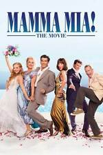 MAMMA MIA MOVIE POSTER a (ABBA) - DIFFERENT SIZES - FREE UK POSTAGE - UK SELLER