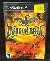 Dragon Rage -  PS2 Playstation 2 Game Tested Working Complete