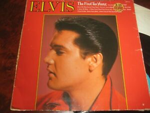 ELVIS THE FIRST TEN YEARS LP