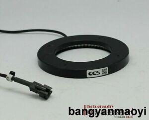 1pc Used Good  CCS LDR-96BL2-LA1 Ring Light Blue