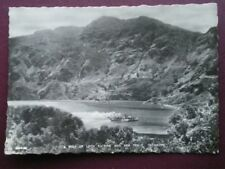 POSTCARD RP STIRLINGSHIRE A PEEP OF LOCH KATRINE & BEN VENUE TROSSACHS