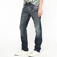 Neu Pepe Herren Regular Straight Fit Jeans Hose - Used Look - Cash CF1