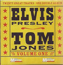 Elvis Presley/Tom Jones Volumes One & Two The Sunday Mirror. UK CD