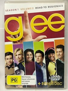 Glee - Season One Volume Two - 3 DVD Set - AusPost with Tracking