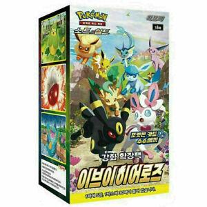 [Pokemon Card] Enhanced Expansion booster Eevee Heroes 1Box /Korean