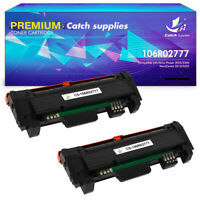 2PK High Yield Toner Compatible for Xerox 106R02777 WorkCentre 3215 3225 3260