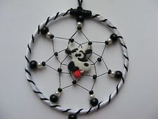 SILLY COW ~ MINI Dreamcatcher Bedroom / Car Mirror Charm Birthday gift Crazy Mad