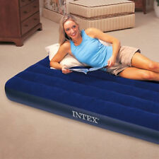 Inflatable Air Bed Travel Camping Mattress Sleeping Rest Mat Single Twin Size