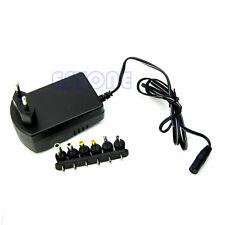 EU Plug Universal AC/DC Adaptor Power 3V 4.5V 5V 6V 7.5V 12V DC Charger