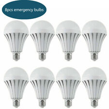 8pcs 12W Led Emergency Light with Rechargeable Battery Lighting E27 Smart Bulb
