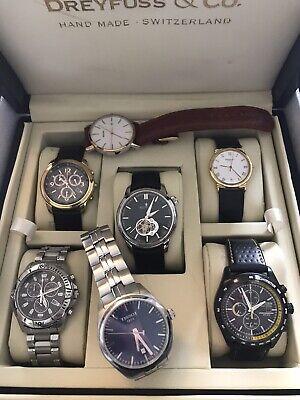 Watch Collection Tissot Dreyfuss Citizen Bulova Raymond Weil