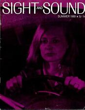 SS69-38-3 SIGHT AND SOUND 1969 Shirley Knight TONY RICHARDSON UK MAGAZINE