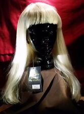MICHELLE'S WIG/COSPLAY COLLECTION MISTRESS BLONDE/LONG HAIR W/BANGS  #24568-11
