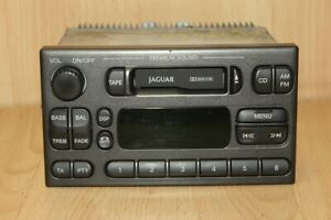 RADIO / CASSETTE STEREO HEAD UNIT (GREY) PREMIUM SOUND Jaguar S-Type 1999-2002