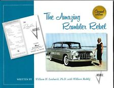 The Amazing AMC Rebel-  NEW EDITION American Motors book!