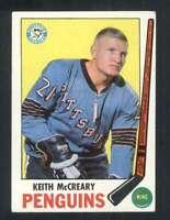 1969-70 Topps #114 Keith McCreary EX/EX+ Penguins 128540