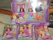 NEW Princess Sofia The First & pals Doll  Royal Sleepover Outfits accessory set