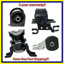 2005-2012 Ford Escape/ Mazda Tribute 2.3/2.5/3.0L Motor & Trans. Mount Set 4PCS.