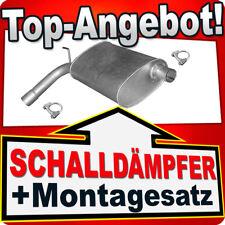 Mittelschalldämpfer CHRYSLER 300M 3.5 V6 24V 252/254 PS 1998-2004 Auspuff XXT