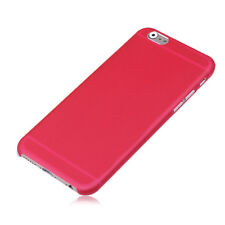 Iphone 6 Mobile Phone Case Red Ultra Thin with Screen Protector