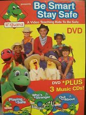 Be Smart Stay Safe: A Video Teaching Kids to Be Safe (DVD+3CDS) (DVD, 2007)