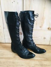 Victorian / Steam Punk Style Leather Boots  UK 5 EUR 38