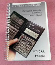 Book Hp 28S Scientific Calculator Owner's Manual, Good Condition
