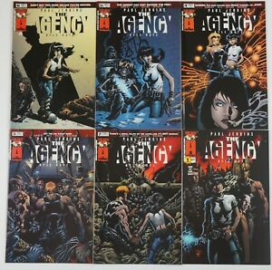 the Agency #1-6 VF/NM complete series - all kyle hotz covers - paul jenkins set