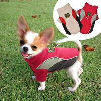 Small Dog Coats Winter Warm Chihuahua Clothes Pet Puppy Padded Jacket Schnauzer