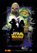 LEGO Star Wars Episode 6 A4 26 Poster Print