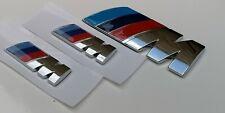 Kit 3 PZ.LOGO Msport BMW CROMATI 2 pz.45x15 mm.+1 pz.82x32 mm.IN METALLO!!!