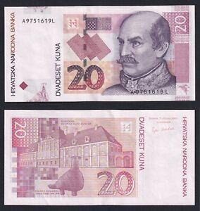 Croazia 20 kuna 2001 SUP/AU  B-09