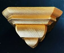 Shelf Baroque Wooden D' Maple Colour Gold Wall
