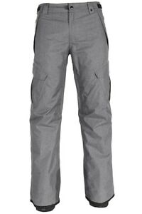 686 Men's INFINITY INSULATED CARGO Snow 2019 Pants - GRY - Large - NWT