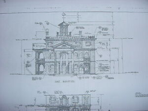 Disneyland Haunted Mansion blueprints (23) sheets