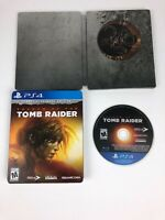 Shadow of the Tomb Raider Croft Steelbook Edition for Playstation 4 PS4