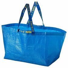 IKEA FRAKTA Bag Large Blue Reusable Tote Storage 19 Gallon NEW Fast FreeShipping