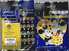 Disney Collectible Pin Pack (Disney Couples) - Contains 5 Random Selected Pins
