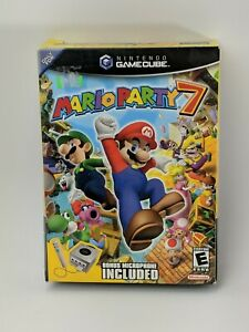 Mario Party 7 Nintendo GameCube - AUTHENTIC Cardboard Big Box ONLY (NO GAME)