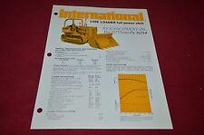 International Harvester 100E Crawler Loader Dealer's Brochure YABE10 ver