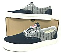"VANS ERA ""New York Yankees"" Wool-Blue Night-Pinstripe Mens Shoes (VN-0A38FRRTF)"