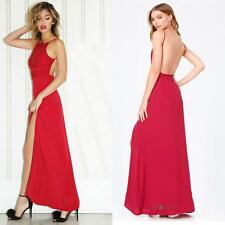 BEBE STEPHANIA LACE OPEN BACK GOWN MAXI DRESS NEW NWT $219 LARGE L