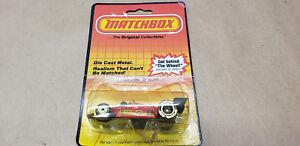 VINTAGE  MATCHBOX MB16 FORMULA RACER CAR 1984 CARD 1983