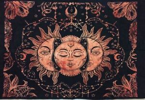 Wall Hanging Tapestry Cotton Wonderful Sun Design Altar Cloth Small Poster Art
